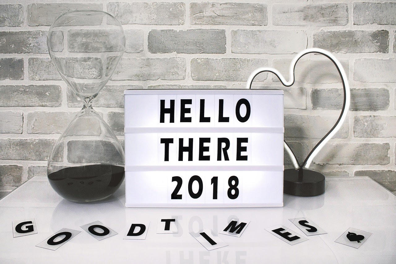 Hello there 2018 sign